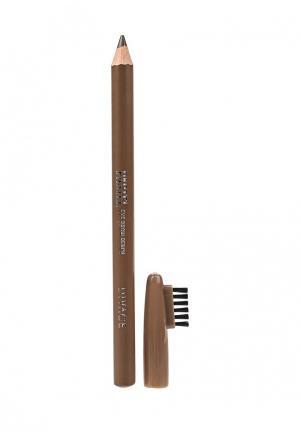 Карандаш для бровей Divage Pastel №1104. Цвет: коричневый