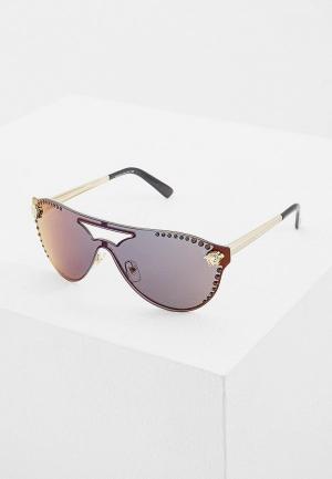 Очки солнцезащитные Versace VE2161B 1252W6. Цвет: золотой