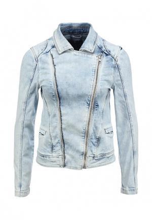 Куртка джинсовая SALSA. Цвет: синий