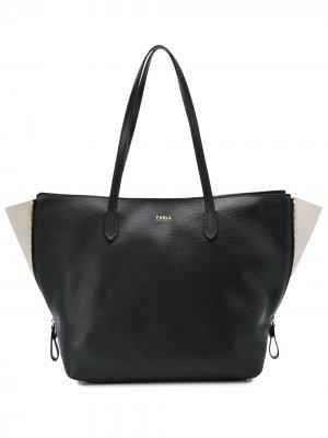 Большая сумка-тоут Luce Furla. Цвет: черный