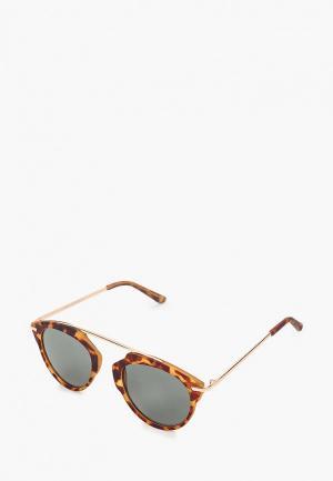 Очки солнцезащитные Koton. Цвет: коричневый