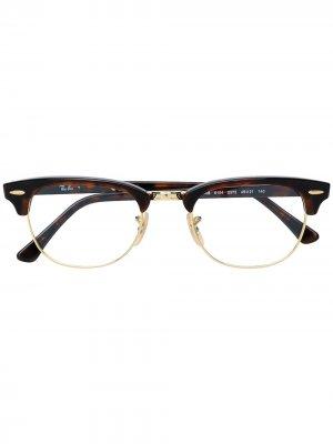 D-frame glasses Ray-Ban. Цвет: коричневый