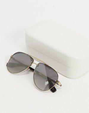 Солнцезащитные очки-авиаторы 317/S-Золотистый Marc Jacobs
