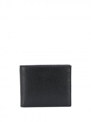 Бумажник с логотипом Canali. Цвет: черный