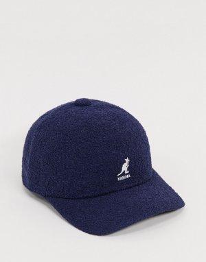 Темно-синяя бейсболка -Темно-синий Kangol