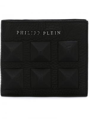 Кошельки и визитницы Philipp Plein. Цвет: чёрный