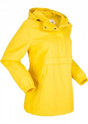 Функциональная куртка-дождевик bonprix. Цвет: желтый