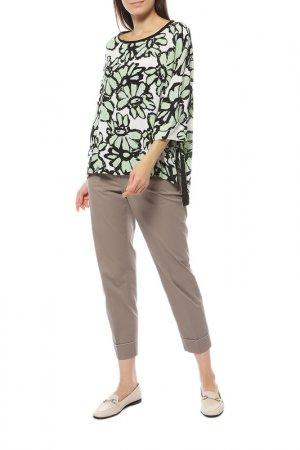 Блуза BEATRICE. Цвет: зеленый