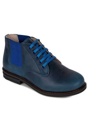 Ботиночки WOOPY. Цвет: синий