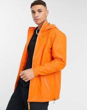 Куртка-ветровка -Оранжевый Rains