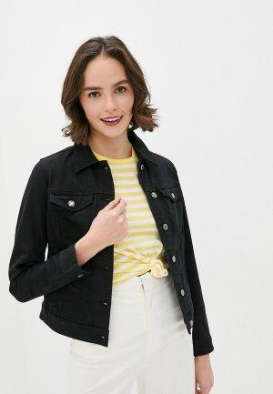 Куртка джинсовая s.Oliver. Цвет: черный