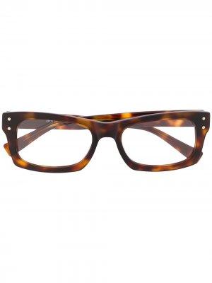 Очки Dedalo Epos. Цвет: коричневый