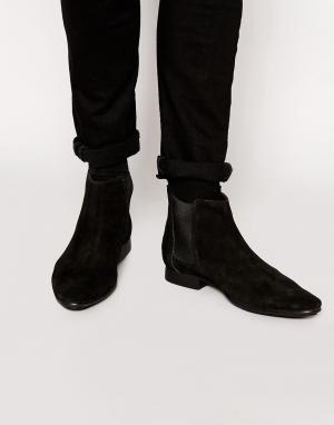 Замшевые ботинки челси -Черный Frank Wright