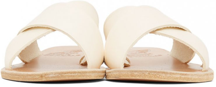 Off-White Thais Sandals Ancient Greek. Цвет: off white