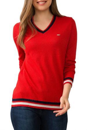 Пуловер U.S. Polo Assn.. Цвет: vr030 красный