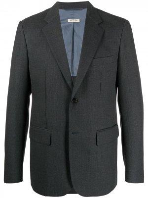 Однобортный пиджак Marni. Цвет: серый