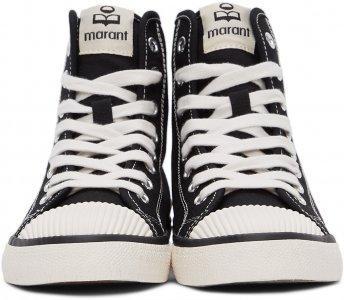 Black Benkeen High Sneakers Isabel Marant. Цвет: 01bk black