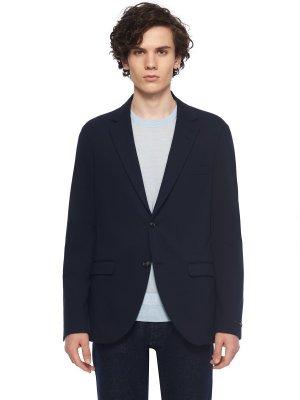 Костюмный пиджак TIGER OF SWEDEN. Цвет: темно-синий