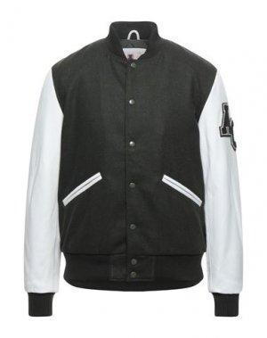 Куртка AMERICAN COLLEGE. Цвет: темно-зеленый