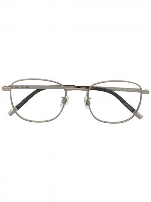 Oval-frame glasses Montblanc. Цвет: золотистый