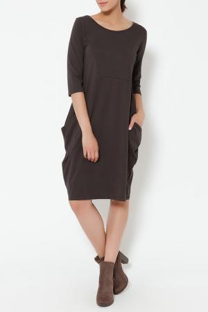 DRESS TANTRA. Цвет: коричневый