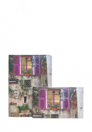 Комплект Eshemoda Прованс. Цвет: разноцветный