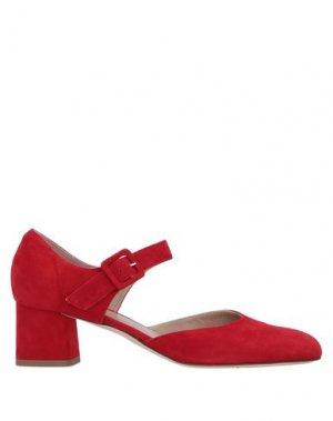 Туфли ELLE. Цвет: красный