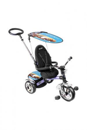 Трехколесный велосипед-коляска ICON. Цвет: голубой