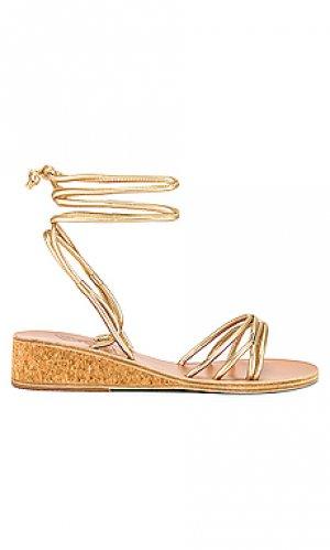 Сандалии persida Ancient Greek Sandals. Цвет: металлический золотой