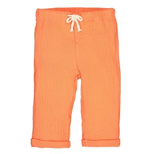 Брюки La Redoute. Цвет: оранжевый