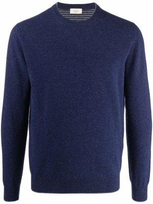 Джемпер с длинными рукавами Altea. Цвет: синий