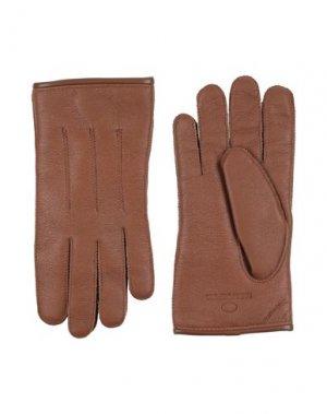 Перчатки PARAJUMPERS. Цвет: коричневый