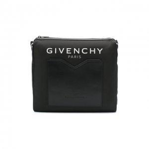 Комбинированная сумка Light 3 Givenchy. Цвет: чёрный