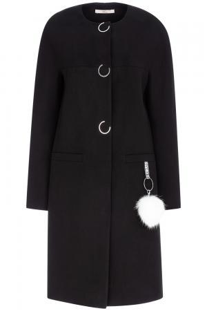 Легкое пальто без воротника Elema