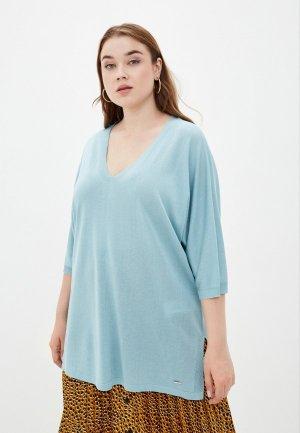 Пуловер Samoon by Gerry Weber. Цвет: голубой