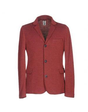 Пиджак BARK. Цвет: красно-коричневый