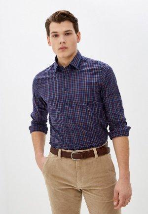 Рубашка Henderson. Цвет: синий