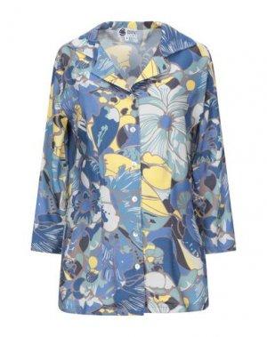 Pубашка BINI Como. Цвет: небесно-голубой