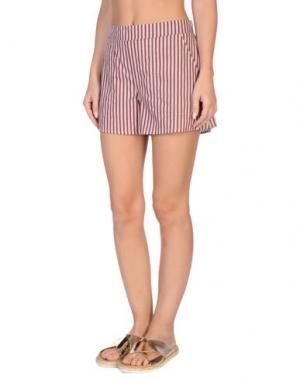 Пляжные брюки и шорты GRAZIA'LLIANI SOON. Цвет: пурпурный