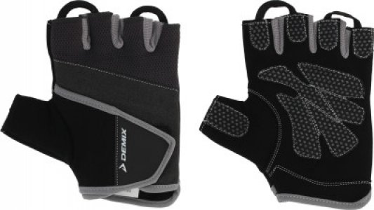 Перчатки для фитнеса , размер S Demix. Цвет: серый