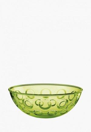 Салатник Guzzini Forme Casa 30 см. Цвет: зеленый
