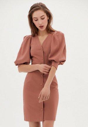 Платье Love Republic Exclusive online. Цвет: розовый
