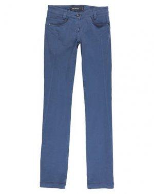 Повседневные брюки HEAVEN TWO. Цвет: грифельно-синий