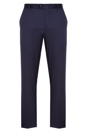 Синие классические брюки Etro. Цвет: синий