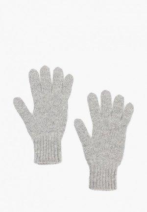 Перчатки Снег Идёт. Цвет: серый