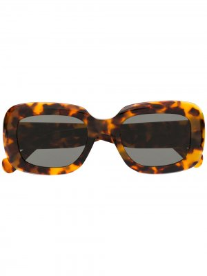 Солнцезащитные очки Havana Retrosuperfuture. Цвет: коричневый