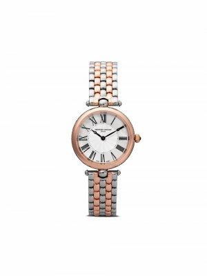 Наручные часы Classic Art Deco 30 мм Frédérique Constant. Цвет: розовый