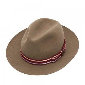 Шляпа федора CHRISTYS. Цвет: бежевый