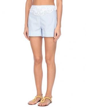 Пляжные брюки и шорты BLUMARINE. Цвет: лазурный