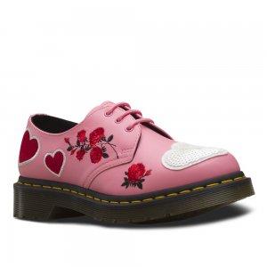 1461 Hearts Women Dr. Martens. Цвет: розовый